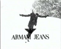 Armani Jeans - Ice skater